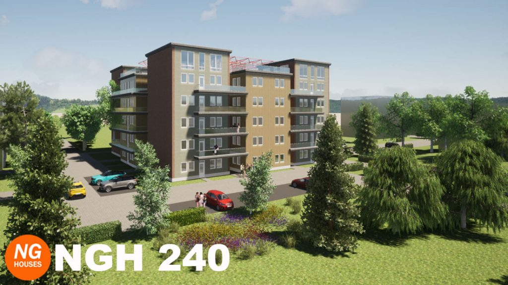 Appartmentencomplex 240 NGH